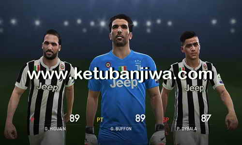 PES 2018 PS4 PESFan Option File v1 Ketuban Jiwa