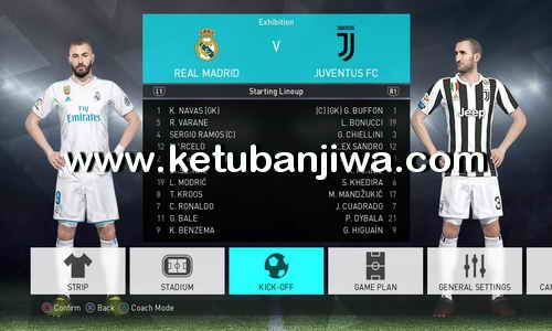 PES 2018 PS4 WEHK Patch Option File v0.1 Fix All FakeTeams Ketuban Jiwa