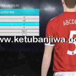 PES 2018 Premier League + LaLiga Fonts For Edit Mode