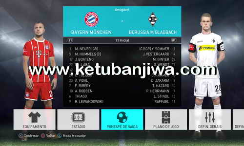 PES 2018 Tuga Vicio Option File Update v1.1 For PC + PS4 Ketuban Jiwa