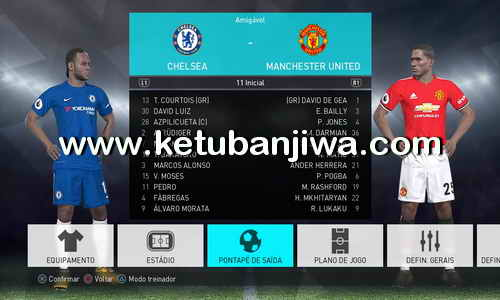 PES 2018 Tuga Vicio Option File v1 For PC + PS4 Ketuban Jiwa