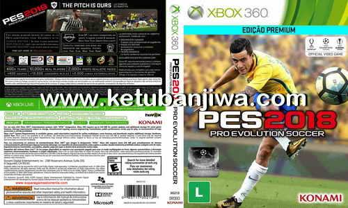 PES 2018 XBOX 360 The Best World Patch v1 Update 12 September 2017 Ketuban Jiwa
