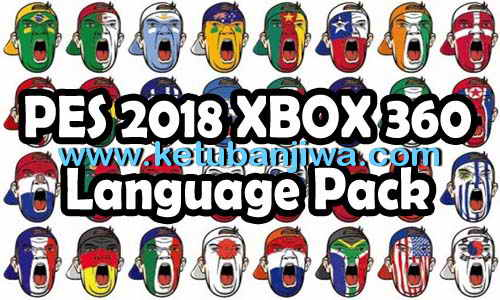 PES 2018 XBOX360 Language Pack Commentary Files Ketuban Jiwa