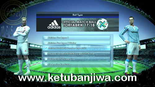 Download PES 2013 PS3 CFW Djambe Patch Season 2017-2018 Single Link Preview 2 Ketuban Jiwa