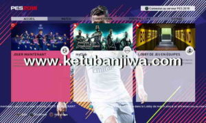 FIFA 18 Menu Theme For PES 2018 PS3 + PC by Boomcas Ketuban Jiwa
