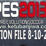 PES 2013 PESEdit 6.0 Option File Update 08/10/2017