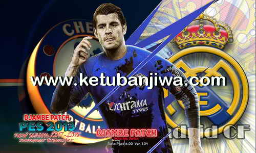 PES 2013 PS3 CFW Djambe Patch Single Link Season 17-18 Ketuban Jiwa