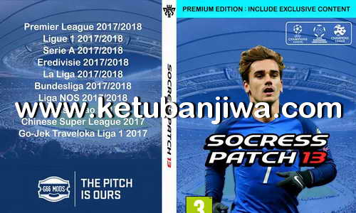 PES 2013 Socress Patch 13 Season 2017-2018 For PC Ketuban Jiwa