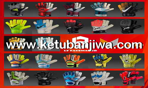 PES 2018 Gloves Pack For PC by LF Multimaker Ketuban Jiwa