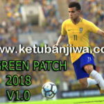 PES 2018 Green Patch v1.0 + DLC 1.0