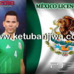 PES 2018 PS3 Mexico NT License Option File