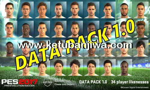 PES 2018 Official Data Pack DLC 1.0 For PS3 BLES + BLUS Single Link Ketuban Jiwa