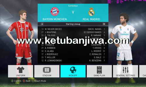 PES 2018 Option File v8.5 AIO Compatible Online Single Link For PC by InMortal Ketuban Jiwa