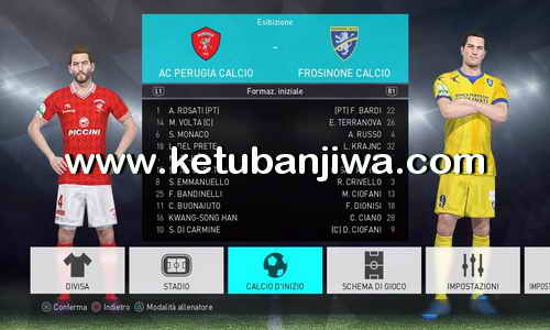 PES 2018 PESFan Option File v5 AIO Compatible DLC 1.0 For PS4 Ketuban Jiwa