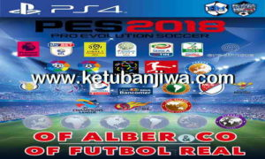 PES 2018 PS4 Futbol Real Option File 2.5 Editing Patch