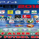 PES 2018 PS4 Futbol Real Option File 3.0 Editing Patch