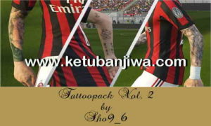 PES 2018 Tattoo Pack v2 AIO by Sho9_6