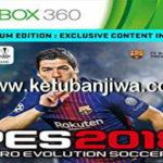 PES 2018 XBOX360 GLDR Gamer Patch Brasileiro