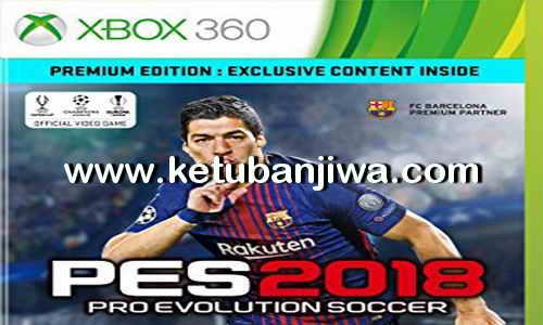 PES 2018 XBOX 360 GLDR Gamer Patch Brasileiro Ketuban Jiwa