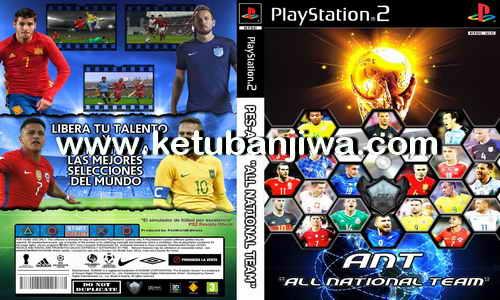 PESWorldEdition PS2 ANT 2017 All National Team Beta Ketuban Jiwa