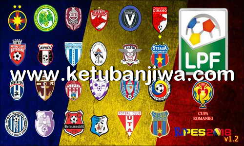 Download PES 2018 RoPES Option File v1.2 Romanian Liga 1 For PC by Kryogh Ketuban Jiwa