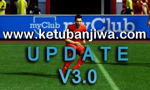 PES 2013 R-Patch 3.0 Update Season 2017-2018 Ketuban Jiwa
