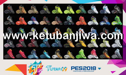 PES 2018 Boots Pack v2 For PC by Tisera09 Ketuban Jiwa