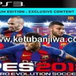PES 2018 PS3 BLES + BLUS PSN Style 1.03