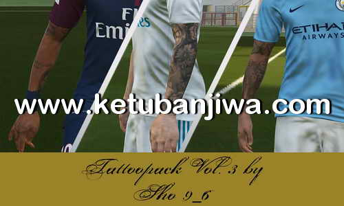 PES 2018 Tattoo Pack Vol. 3 by Sho9_6 Ketuban Jiwa