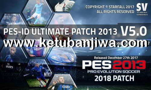 PES 2013 PES-ID Ultimate Patch v5.0 AIO Single Link For PC Ketuban Jiwa