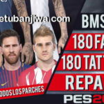 PES 2018 180 Faces + Tattoos Repack by bmS