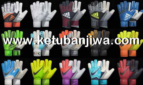 PES 2018 Gloves Pack v1 by T09 Ketuban Jiwa