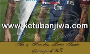 PES 2018 KS Tattoos Pack v1