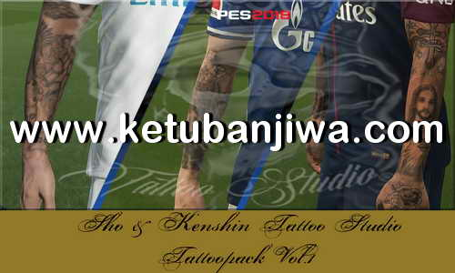 PES 2018 KS Tattoos Pack Vol.1 Ketuban JIwa