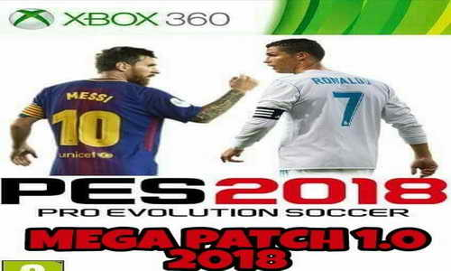 PES 2018 Mega Patch v1.0 For XBOX 360 Single Link Ketuban Jiwa