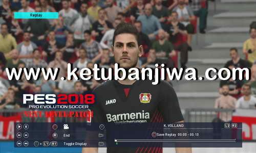 PES 2018 Next Level Patch v2.2 Update For PS3 CFW BLES + BLUS Ketuban Jiwa