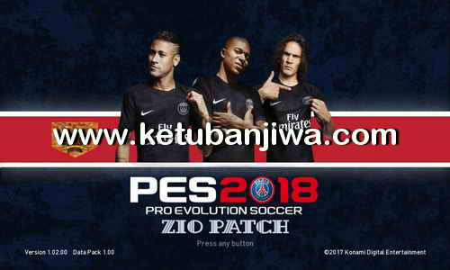PES 2018 ZiO Patch 2.0 + 2.1 Liga Gojek Traveloka Indonesia For PS3 CFW BLES - BLUS Ketuban Jiwa