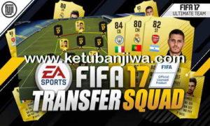 Download FIFA 17 Final Transfer Squad Database Update 09 January 2018 by IMS Ketuban jiwa