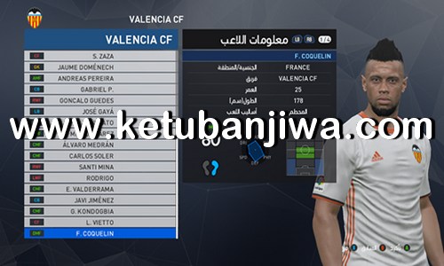 PES 2017 Option File Winter Transfer Update 13 January 2018 For PTE Patch 6.1 by Osama Mohammad Mistariihi Ketuban Jiwa