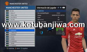 PES 2017 PTE Patch Option File Update 23/01/2018