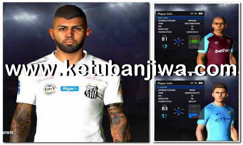 PES 2017 Option File Winter Transfer Update 30 January 2018 For PES Professionals Patch v4.1 by Hatem Fathy Ketuban Jiwa