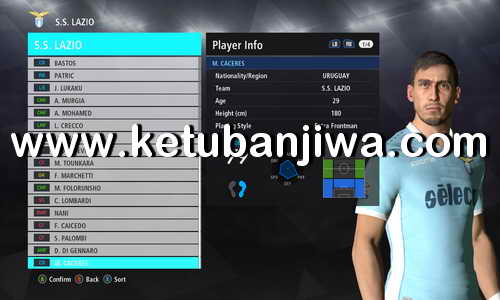 PES 2017 Winter Transfer Update 14 January 2018 For PTE Patch 6.1 by Fast Eagle Ketuban Jiwa
