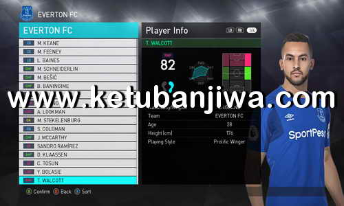 PES 2018 Option File Transfer Update 18 January 2018 For PTE Patch 3.0 by Aldivio Ketuban Jiwa