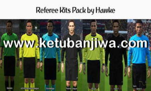 PES 2018 Referee Kits Pack by Hawke Ketuban Jiwa