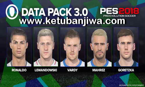 Download PES 2018 Official Datapack 3.0 For PS3 BLES + BLUS Single Link