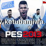 PES 2013 PS3 Winter Transfer 2018 Patch by ZiO