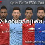 PES 2017 PTE 6.1 Final Option File Update 10/02/2018
