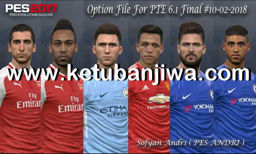 PES 2017 PTE 6.1 Final Option File Update 10/02/2018