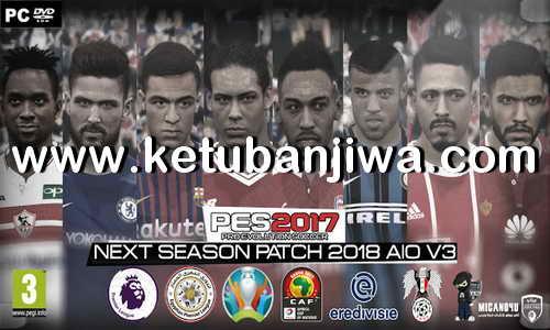 PES 2017 Next Season Patch 2018 AIO v3 Single Link Torrent by Micano4u Ketuban Jiwa