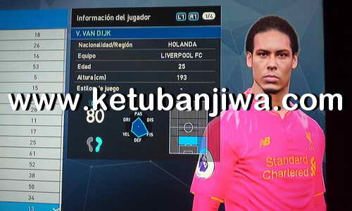 PES 2017 PS3 OFW FernandoPES Option File v3 + v3.1 Winter Transfer Update 2018 Ketuban Jiwa